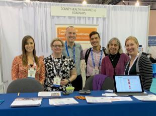 County Health Rankings & Roadmaps team at APHA 2019